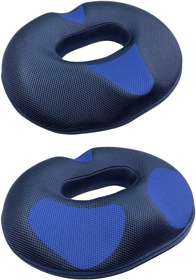 Littlejimmy Donut Pillow-Donut Seat Cushion for Relief Tailbone Pain, Hemmoroid Treatment, Bed Sores, Prostate, Coccyx, Sciatica, Pregnancy, Postpartum, Male and Female Ergonomic Design (for Female)