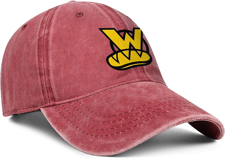 chenhou Unisex Which Wich Sign Hat Adjustable Fitted Dad Baseball Cap Trucker Hat Cowboy Hat