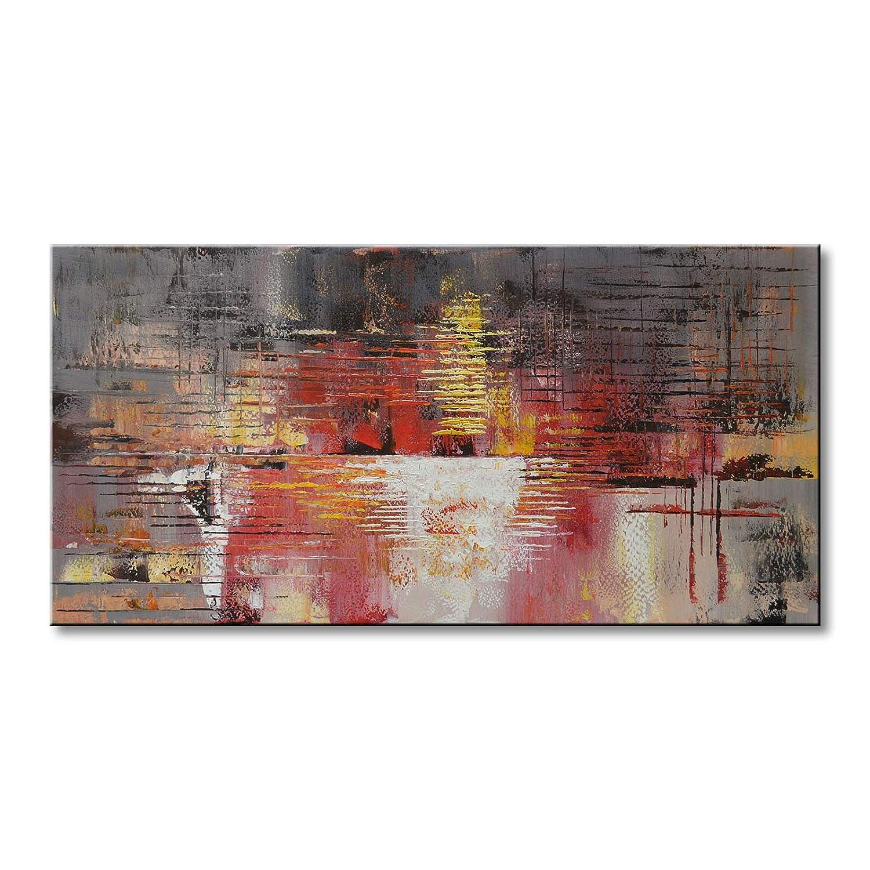 Amazon.de: seekland Art Oil Painting auf Leinwand handbemalt ...