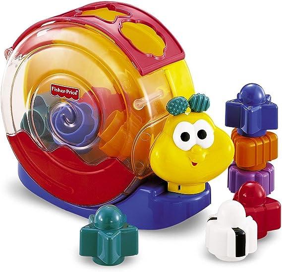 Fisher-Price - Caracol bloques y música (Mattel 71922) , Modelos/colores Surtidos, 1 Unidad: Amazon.es: Juguetes y juegos