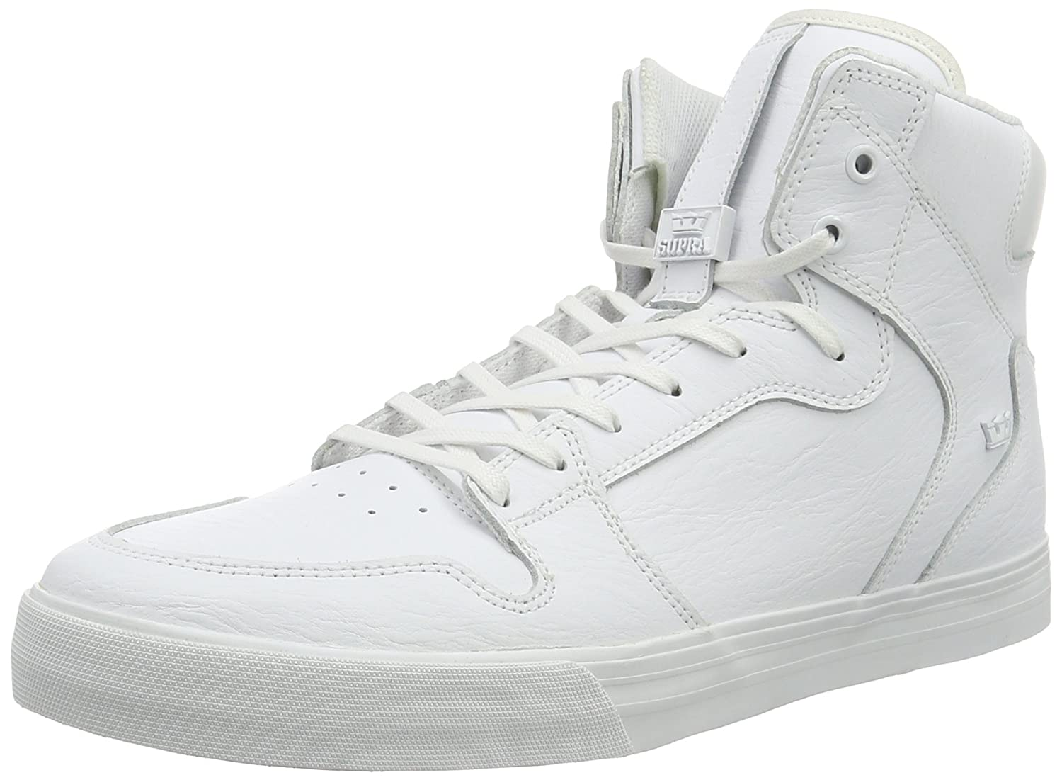 Supra Vaider Skate Shoe B016OF5KC2 15 M US|White-white