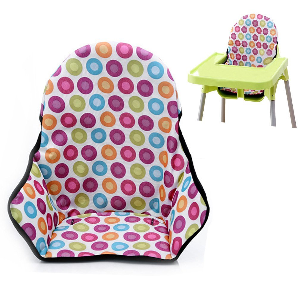 Coussin de chaise haute pour b/éb/é//protection de lemballage de chaise Protector Couleur Dot imperm/éable respirant