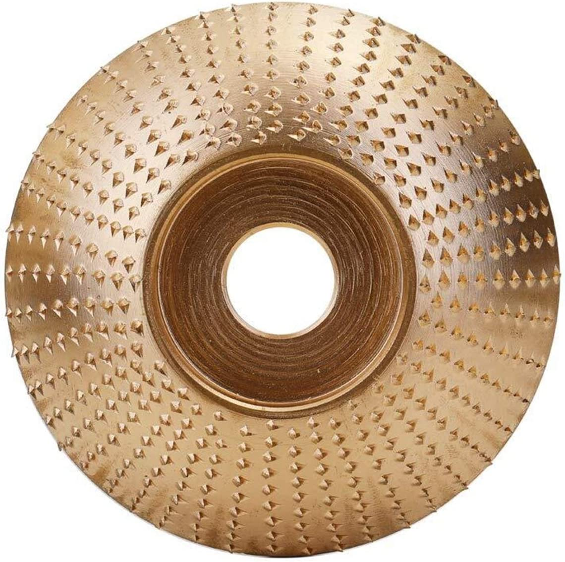 ZGQA-GQA Woodworking Angle Grinding Wheel Woodworking Wood Angle Grinding Wheel Sanding Carving Rotary Tool Abrasive Disc for Angle Grinder Tungsten Carbide Coating Bore Shaping