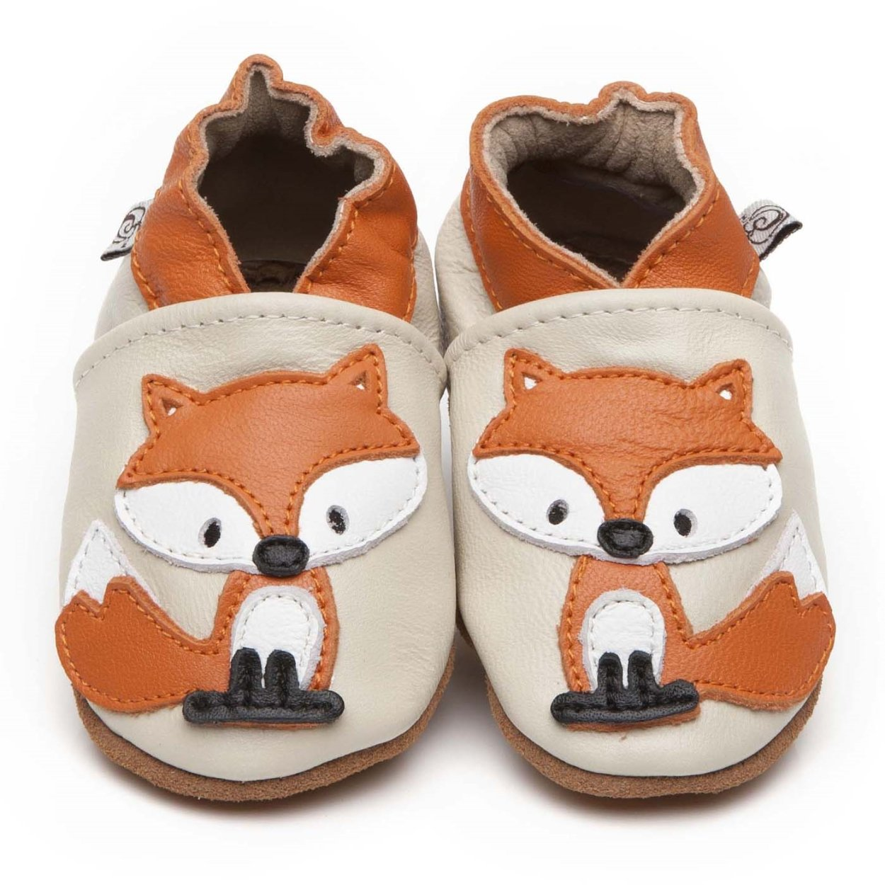 2f0eb98549e8f Soft Leather Baby Shoes Fox 6-12 months