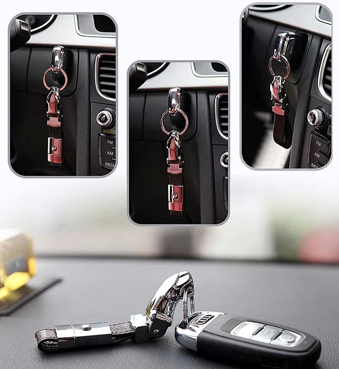 iecool Stainless Lovers Keychains Hooks And Keyrings Racks Left Foot & Right ...