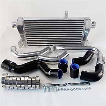 Tubo de manguera de Intercooler + negro silicona + Kit para Audi A4 1.8T Turbo B6 QUATTRO 2002 - 2006: Amazon.es: Coche y moto