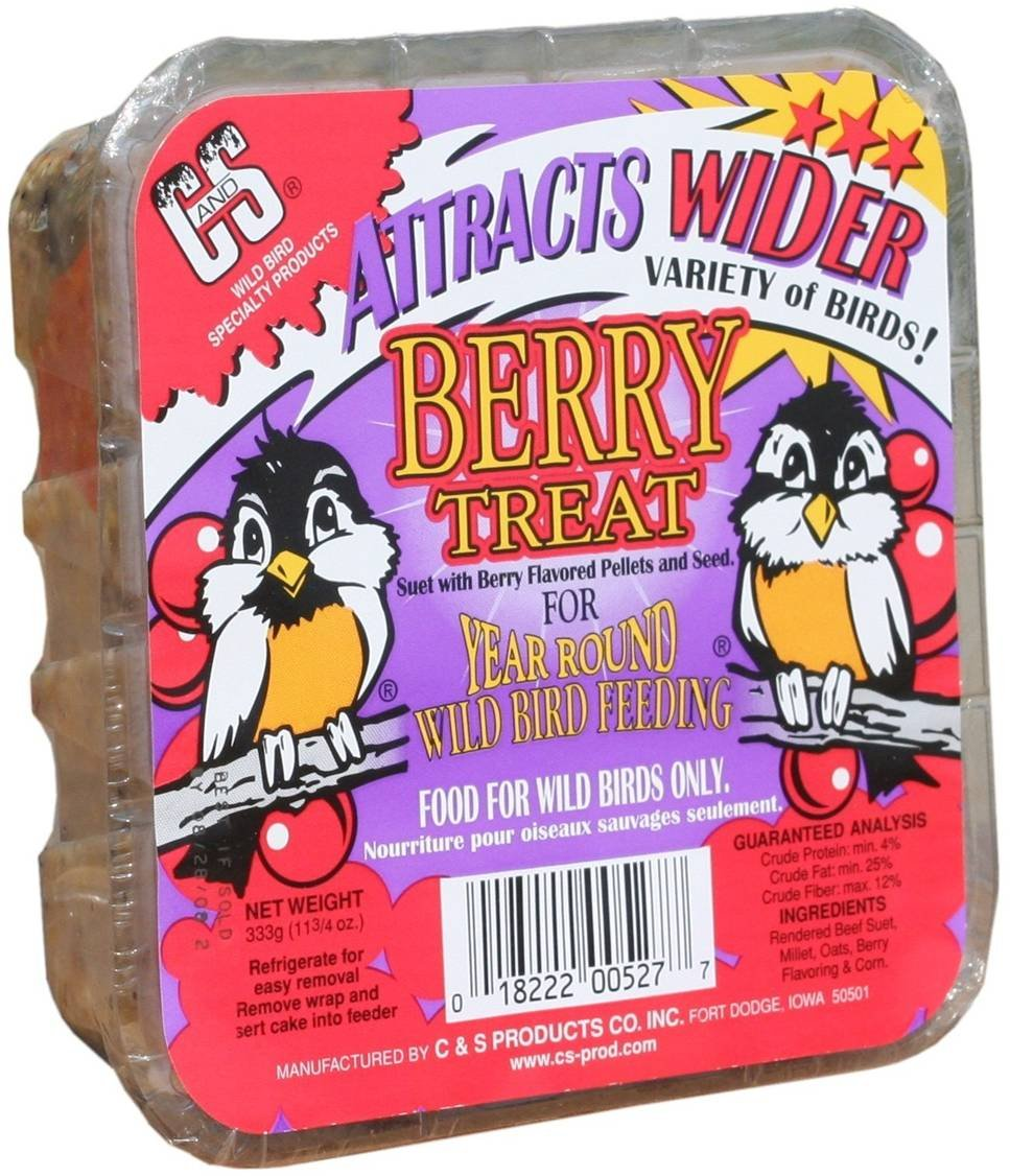 C & S Products Berry Treat, 24-Piece