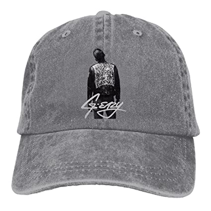 Ulongpoq Unisex G-eazy When It s Dark Out Cotton Baseball Cap Washed Dyed  Ball Dad 09252ad1eb2
