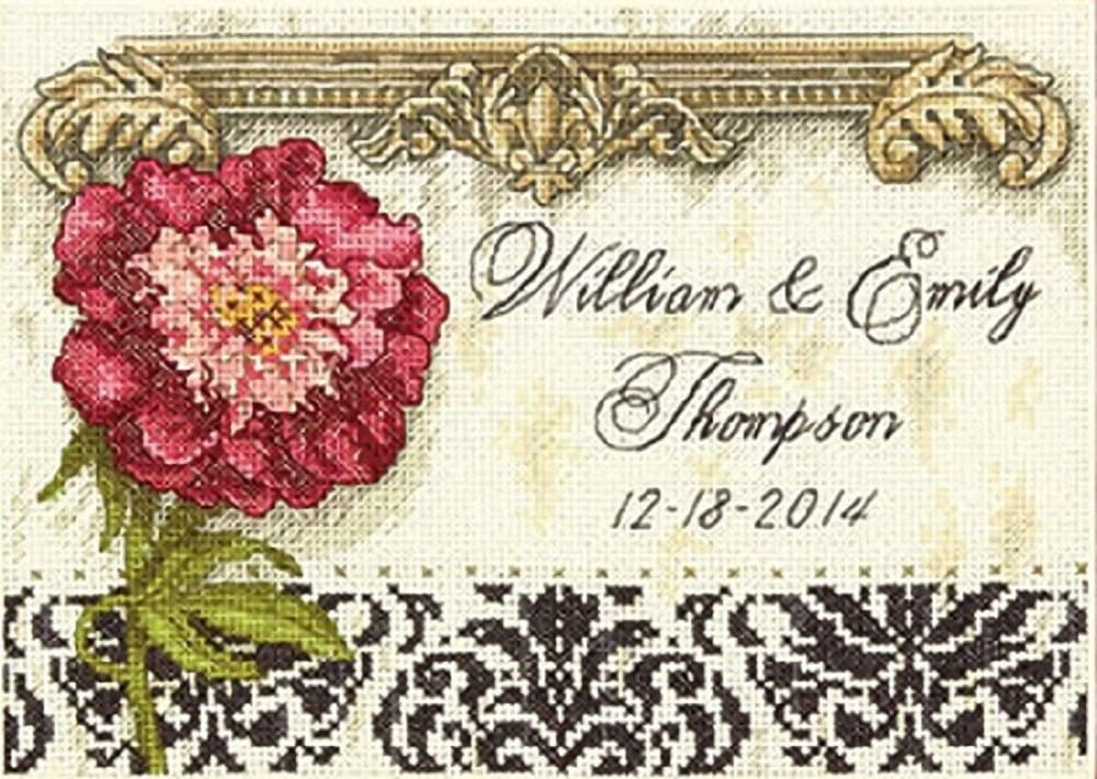 """Dimensions Mini Needlepoint Kit 5/""""X5/""""-Gentle Strength Stitched In Thread"""