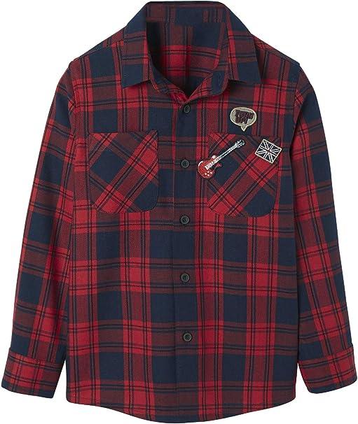 VERTBAUDET Camisa para niño de Franela: Amazon.es: Ropa y accesorios