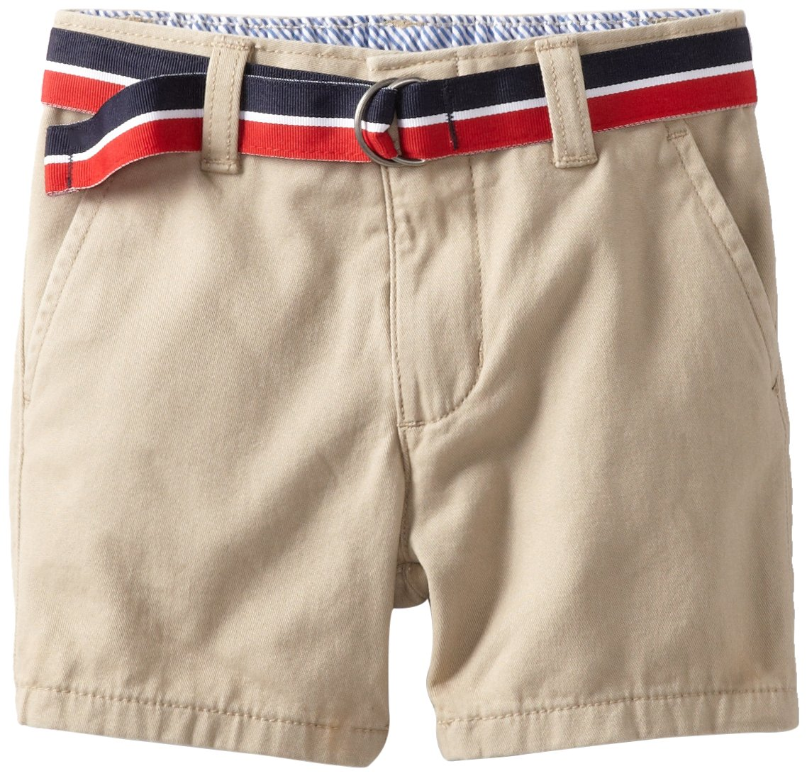 Tommy Hilfiger Baby Boys' Charlie Flat Front Short, Travel Khaki, 24 Months
