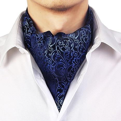 LIANGJUN Elegent Seda Corbata Bufanda Hombres Corbata Camisa Bufanda Boda Oficina Ocasiones Formales, 9 Tipos Disponibles, 128X15cm (Color : 6#)