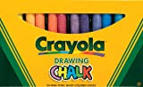 Binney & Smith Crayola(R) Drawing Chalk, Assorted Colors, Box Of 24