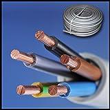 NYM-J 5x4 mm Preis je Meter! Kabel Installationsleitung Kunststoff Mantelleitung