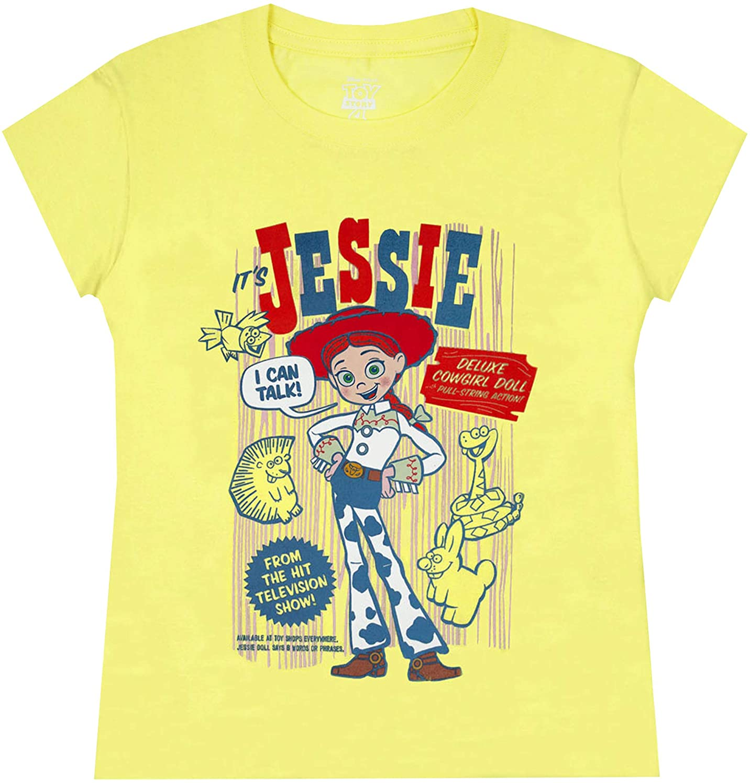 Camiseta Disney Pixar Toy Story Jessie para niña: Amazon.es: Ropa y accesorios