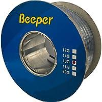 Beeper Cable de Audio 100mts. para Bocinas Altavoces Calibre 16