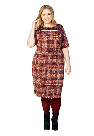Swak Womens Plus Size Short Sleeve Special Occasion Cocktail Sandra
