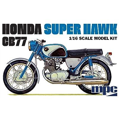 MPC 1 16 Honda Super Hawk Motorcycle, MPC898: Toys & Games