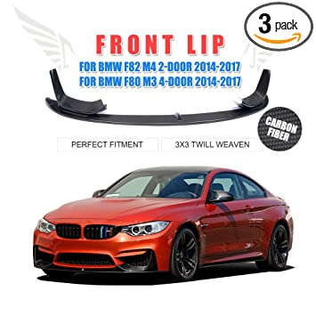 Amazon Com Jc Sportline F80 M3 F82 F83 M4 Front Lip Carbon Fiber