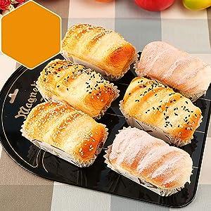 TTIK Food Imitation Kitchen Artificial Bread Lifelike Multi-Purpose Fake Food Kitchen Toy Imitation Fake Food,Bread, Theatre Prop,D