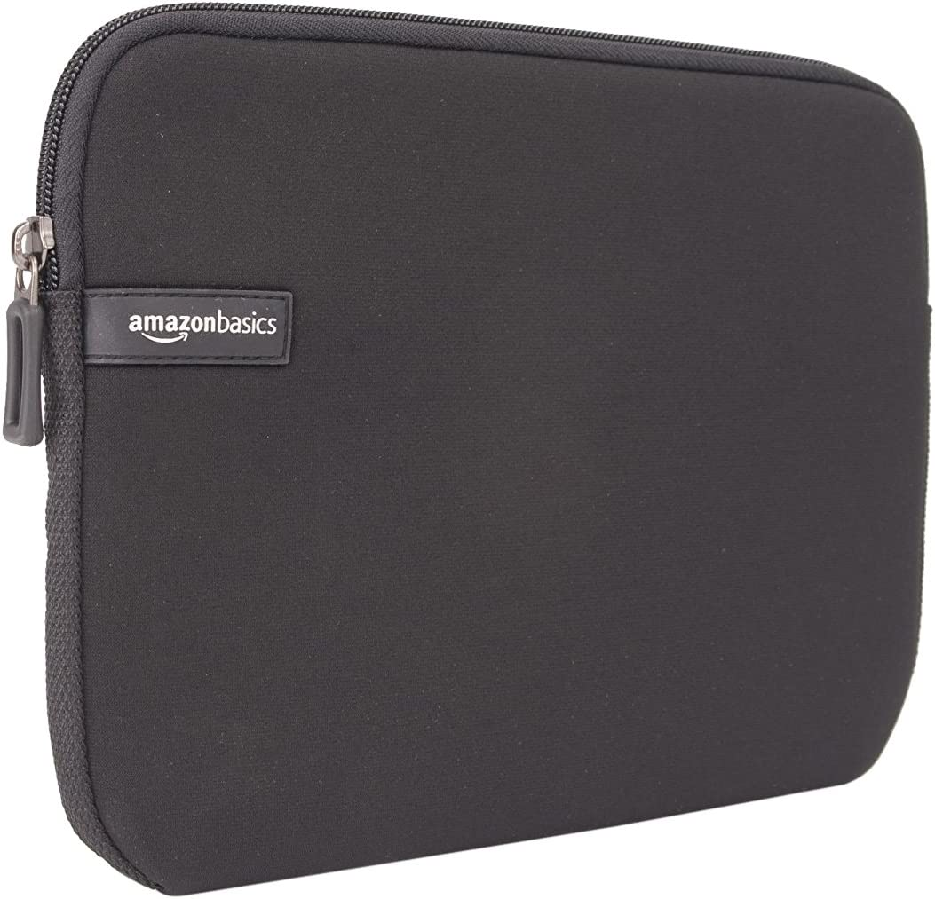 AmazonBasics 10-Inch Tablet Sleeve,10-Pack, Black