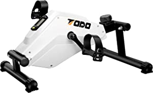 TODO Pedal Exerciser Desk Exercise Bike for Leg and Arm Cycling Training