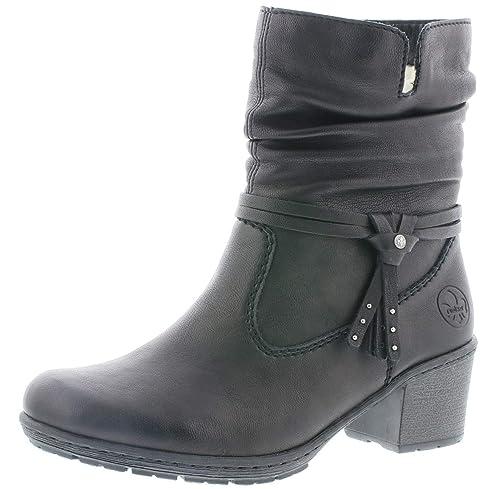 Rieker Damen Stiefelette schwarz Y8850 00