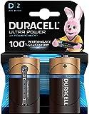 Duracell Ultra Power Piles Alcalines type D, Lot de 2