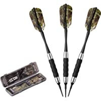 Fat Cat Realtree Hardwoods HD Camo Soft Tip Darts with Storage/Travel Case, 16 Grams