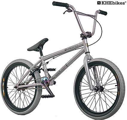 KHE Bmx bicicleta Cope gris solo 10,7 kg.: Amazon.es: Deportes y aire libre
