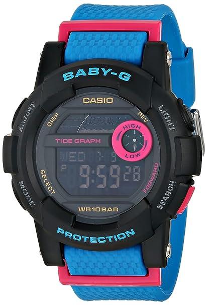 222c90f8eacd6 Amazon.com  Casio Baby-G Digital Dial Resin Quartz Ladies Watch ...