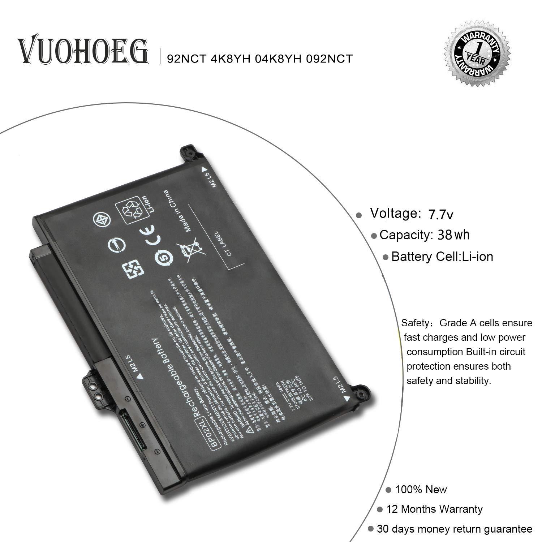 BP02XL Laptop Battery for HP Pavilion PC 15 15-AU000 15-AU010WM 15-AU018WM 15-AW000 15-AU123CL 15-AW053NR Series HSTNN-LB7H HSTNN-UB7B BP02041XL 849569-421 849909-850 849569-542