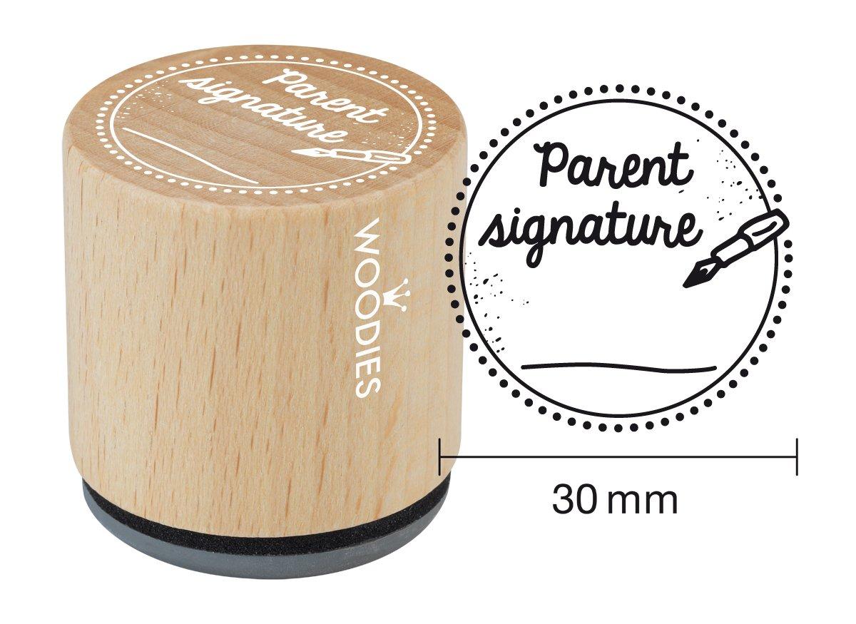 1-3//16 Impression WOODIES School Themed Stamp Sun 071881