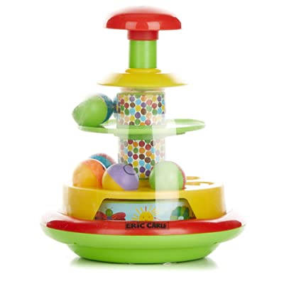 Eric Carle The Very Hungry Caterpillar Push and Spin Popper Toy : Baby