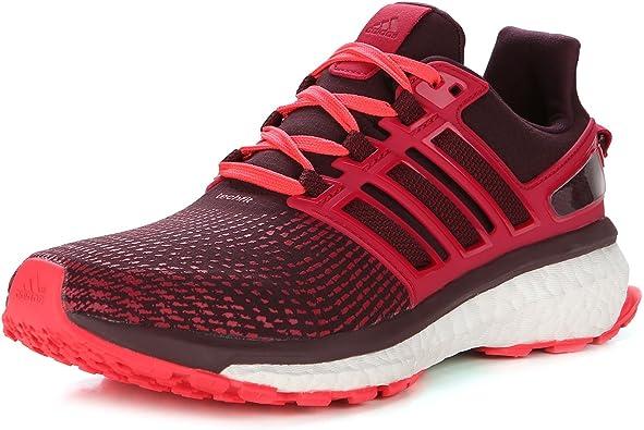 adidas Energy Boost ATR - Zapatillas de running para mujer, color rojo, color Rojo, talla 44 2/3 EU: Amazon.es: Zapatos y complementos