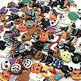 Incredible art Mixed lot Halloween Resin Flatback cute Cabochons Decoden Pieces,20pc per packet   Embellishment Wizard Pumpki
