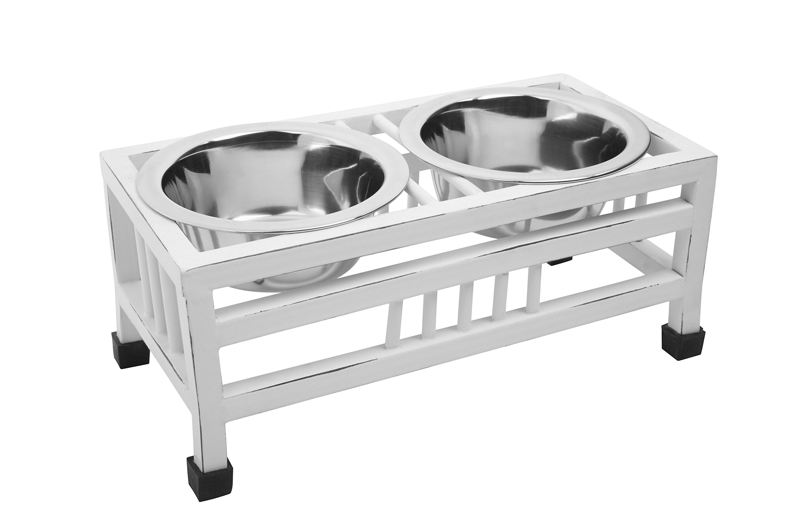 Indipets Wrought Iron Diner with Antique Finish, 1 quart