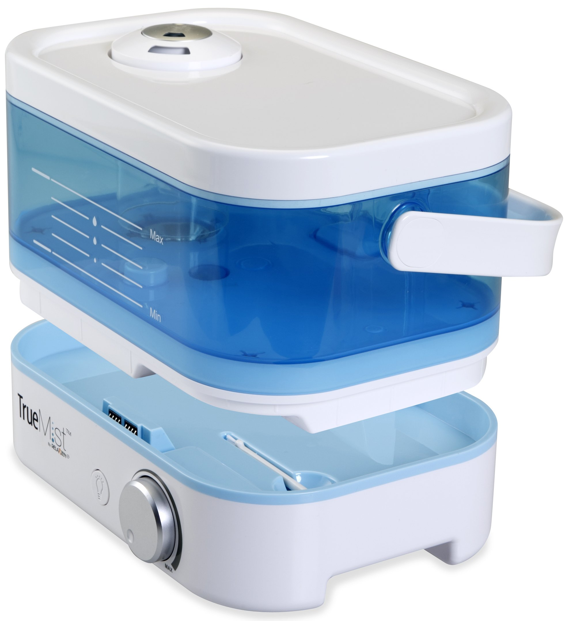 TrueMist Top Fill Cool Mist Humidifier – Easy Clean, Easy Fill, No Mess, White/Blue by TrueMist (Image #7)
