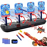 Electronic Shooting Target for Nerf Guns - Auto Reset Digital Scoring Shooting Practice Targets, Ideal Gifts Toys for…
