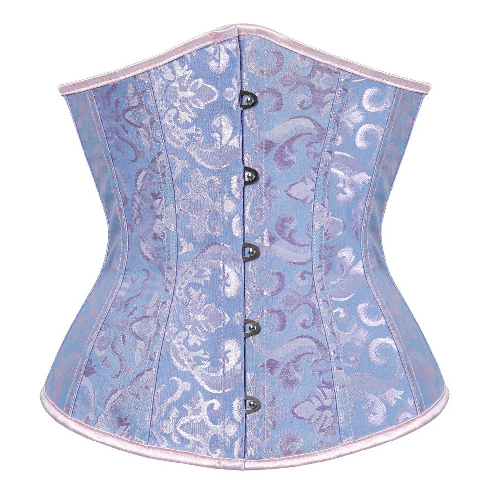 DISSA SD9427 Women Unique Design Close-fitting Corset,Blue