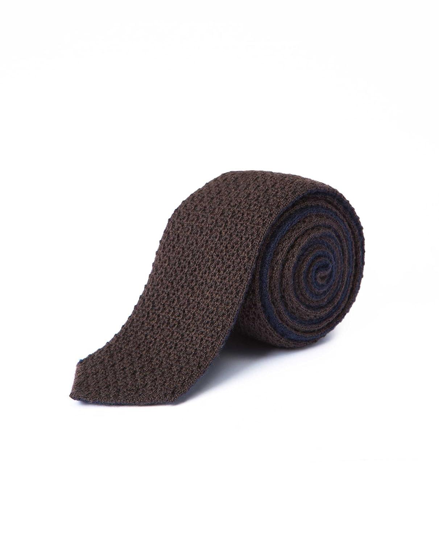 Caramelo, Corbata De Punto Reversible, Hombre · Marron Chocolate ...