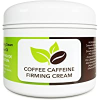 Coconut Cellulite Cream with Caffeine - Natural Stretch Mark Treatment - Best Body Firming and Tightening Cream - Anti…
