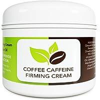 Coconut Cellulite Cream with Caffeine - Natural Stretch Mark Treatment - Best Body...
