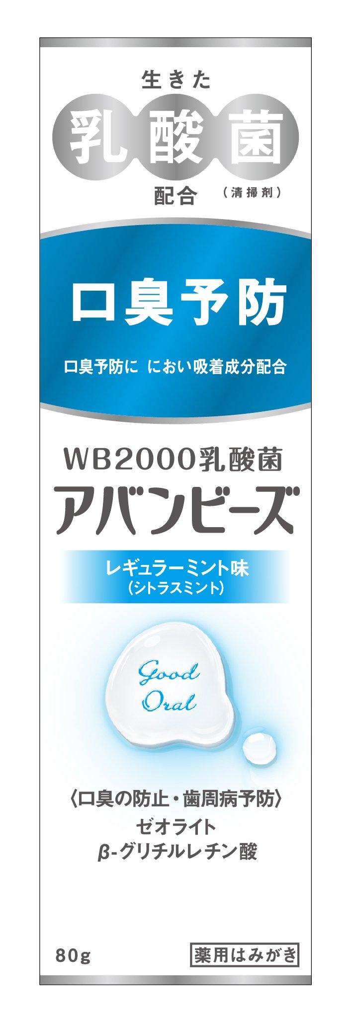 Wakamoto Pharmacy Avantbise 80g Toothpaste 1 Count Regular Mint by Avantbise