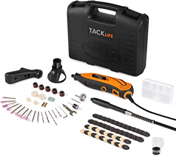 Tacklife Rotary Tool Kit with 80 Accessories and 4 Attachments
