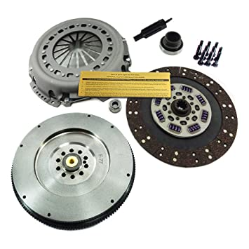 EFT CLUTCH KIT & SOLID FLYWHEEL 94-97 FORD F SD F250 F350 F59 7.3