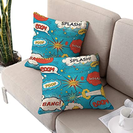 Amazon.com: Alexandear Superhero Square IKEA Pillow Covers ...