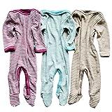 Footed Sleep and Play: Organic Wool Silk Footie
