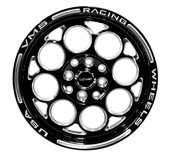 Amazon Com 2x Pair Set 15x3 5 Vms Racing Modulo 4 Lug Drag