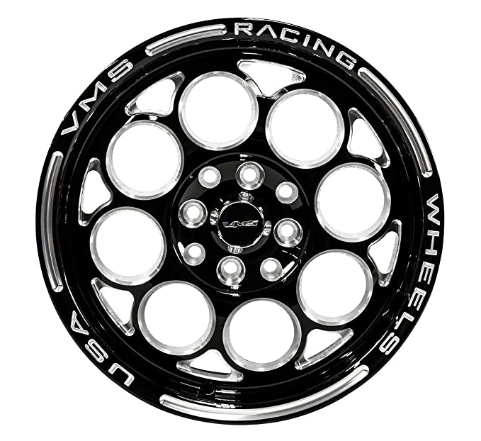 Set 15x3 5 Vms Racing Modulo 4 Lug Drag